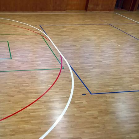 Паркетная доска BOEN SPORT Boflex Olympia EIBASTSY Дуб Спортивный лак