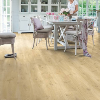 Винил Quick Step Balance Click Plus BACР40018 Дуб дрифт бежевый